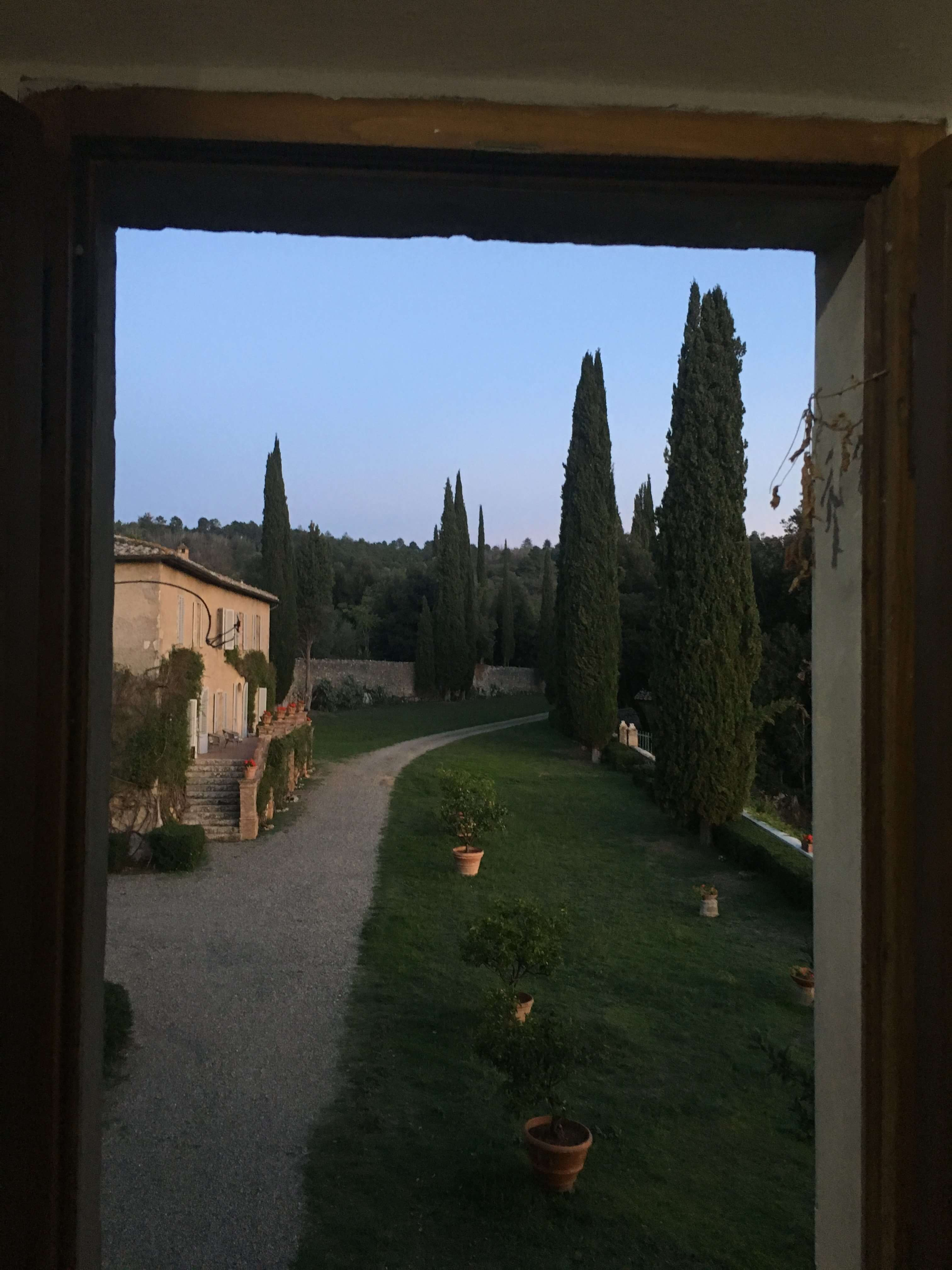 View from the Window - Spannocchia