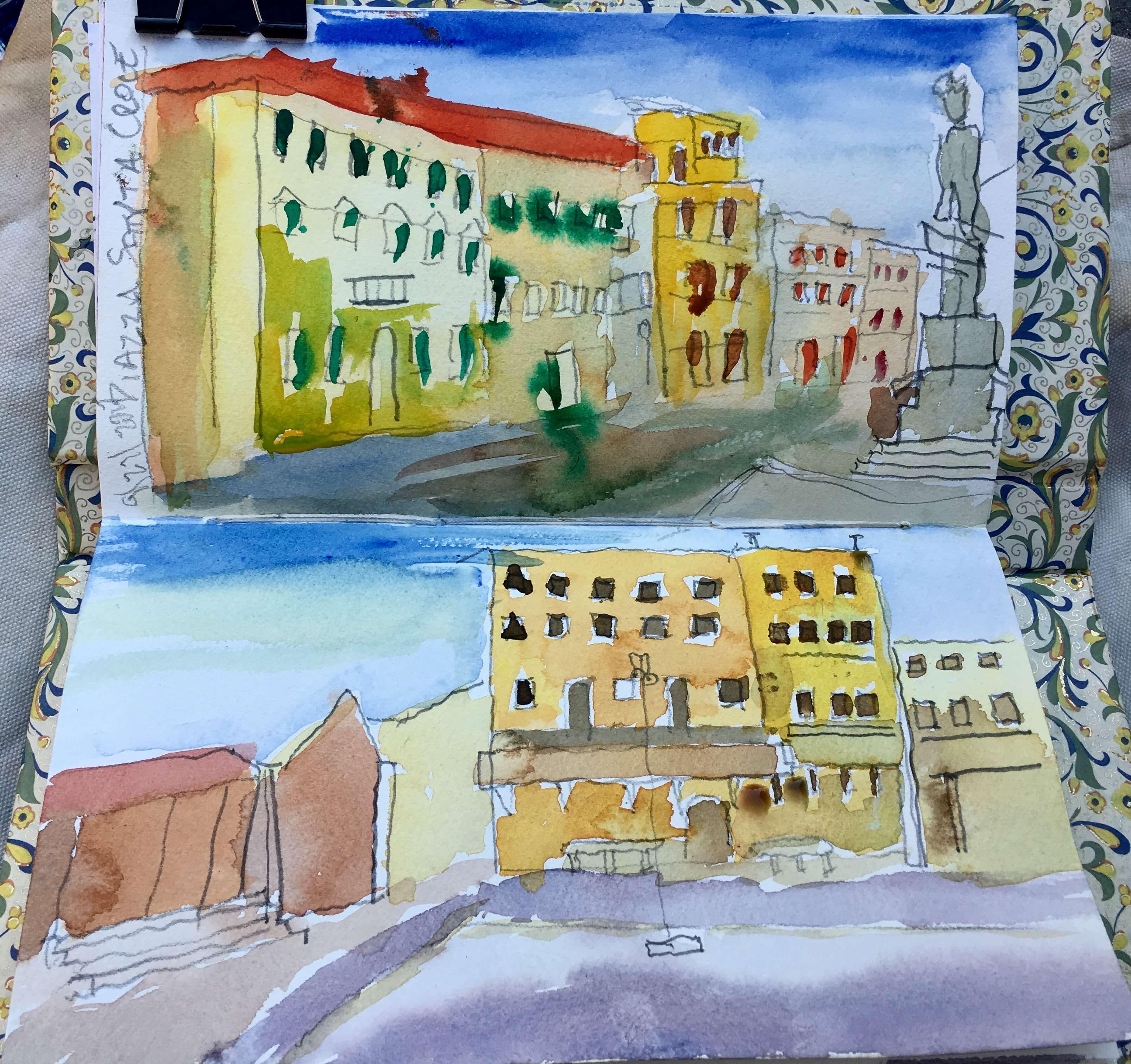 Sketches, Piazza Santa Croce