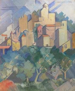 Capri Hill Town - Jane Gallatin Powers
